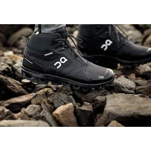 Pantofi sport barbati ON CLOUDROCK WATERPROOF All black1