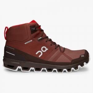 Pantofi sport barbati ON CLOUDROCK WATERPROOF Cocoa Red0