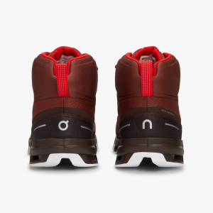 Pantofi sport barbati ON CLOUDROCK WATERPROOF Cocoa Red4