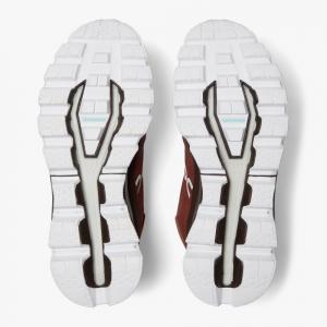 Pantofi sport barbati ON CLOUDROCK WATERPROOF Cocoa Red1