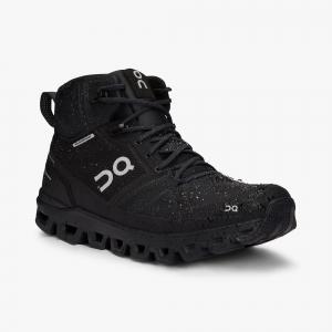 Pantofi sport dama ON W CLOUDROCK WATERPROOF All black3