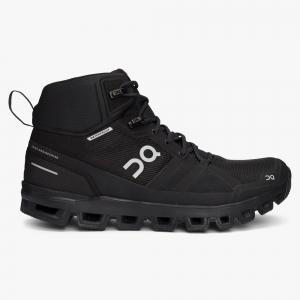 Pantofi sport dama ON W CLOUDROCK WATERPROOF All black0