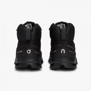 Pantofi sport dama ON W CLOUDROCK WATERPROOF All black4
