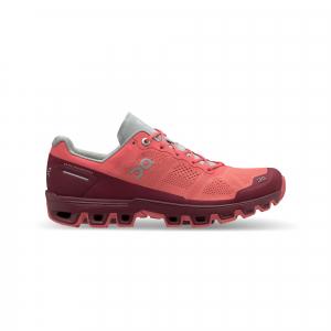 Pantofi sport dama ON W CLOUDVENTURE Coral mulberry0