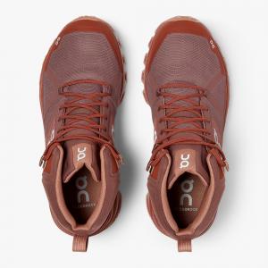 Pantofi sport dama ON W CLOUDROCK WATERPROOF Grape haze4