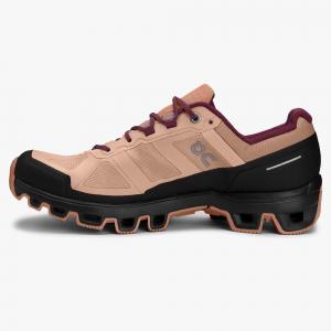 Pantofi sport dama ON W CLOUDVENTURE WATERPROOF Rosebrown / mulberry [1]