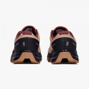 Pantofi sport dama ON W CLOUDVENTURE WATERPROOF Rosebrown / mulberry [2]