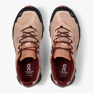 Pantofi sport dama ON W CLOUDVENTURE WATERPROOF Rosebrown / mulberry [4]