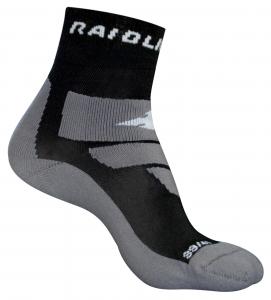 Sosete Raidlight R-LIGHT MIXED Black Grey0