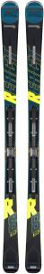 Schiuri + legaturi Rossignol REACT R8 HP/NX12 K.GW BK/YELL3