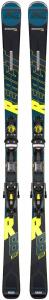 Schiuri + legaturi Rossignol REACT R8 HP/NX12 K.GW BK/YELL0
