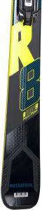 Schiuri + legaturi Rossignol REACT R8 HP/NX12 K.GW BK/YELL4