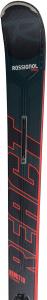 Schiuri + legaturi Rossignol REACT 10 TI/SPX12 K.GW BK/RED [1]
