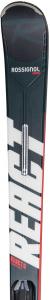 Schiuri + legaturi Rossignol REACT 6 Compact + XPress 11 GW B83 Black/Hot red2