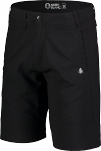 Pantaloni scurti barbati Nordblanc REUTE outdoor ultra light Black1
