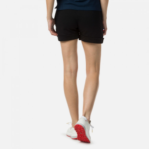 Short dama Rossignol W SWEAT Black1