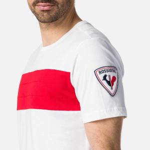 Tricou barbati Rossignol COLORBLOCK White1