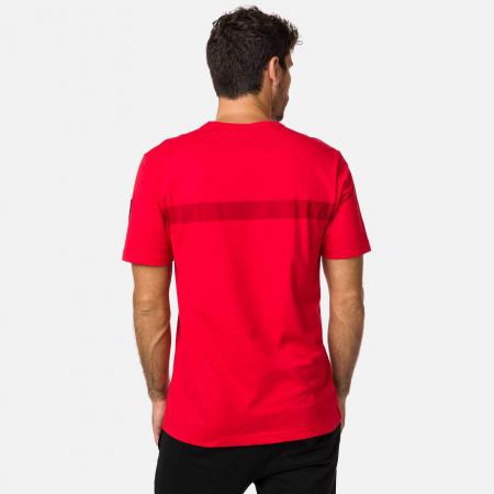 Tricou barbati Rossignol HERO Neon red1