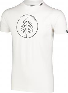 Tricou barbati Nordblanc CIRCLET Cotton White1