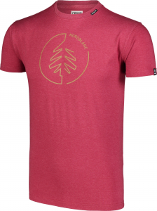 Tricou barbati Nordblanc CIRCLET Cotton deep red1