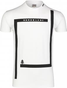 Tricou barbati Nordblanc ENFRAME cotton White0