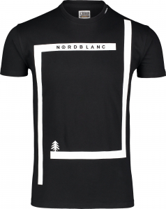 Tricou barbati Nordblanc ENFRAME cotton Black0