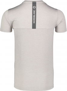 Tricou barbati Nordblanc FULFIL fitness Light grey melange2