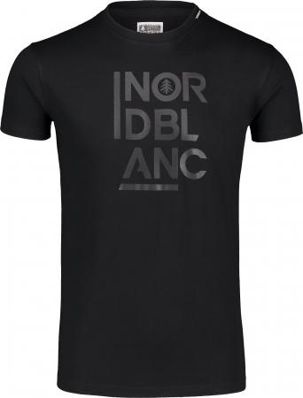 Tricou barbati Nordblanc OBEDIENT cotton black [0]