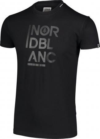 Tricou barbati Nordblanc OBEDIENT cotton black [1]