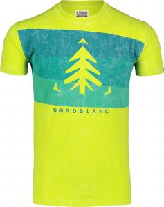 Tricou barbati Nordblanc SCENERY cotton Juicy green0