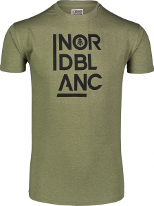 Tricou barbati Nordblanc OBEDIENT cotton Green arhard0
