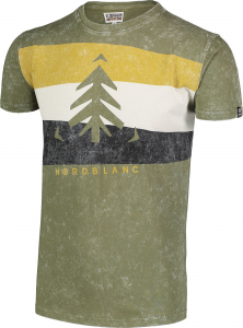 Tricou barbati Nordblanc SCENERY cotton Green arhard1