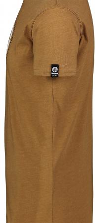 Tricou Barbati Nordblanc TRICOLOR COTTON tawny brown [3]