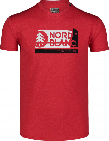 Tricou barbati Nordblanc WALLON dark red [0]