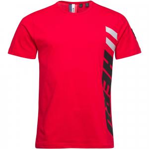 Tricou barbati Rossignol PATCH Red [0]