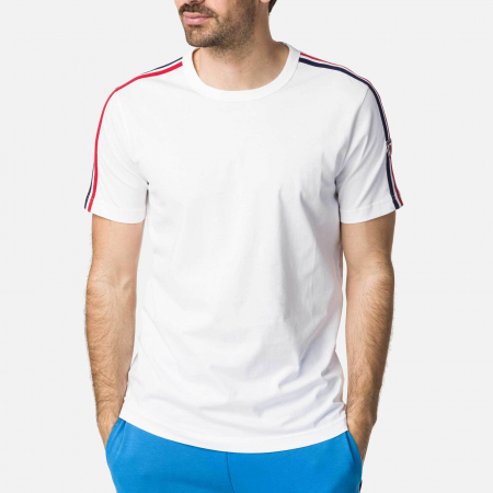 Tricou barbati Rossignol FLAG White [0]