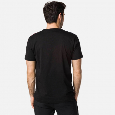 Tricou barbati Rossignol FLAG Black [2]