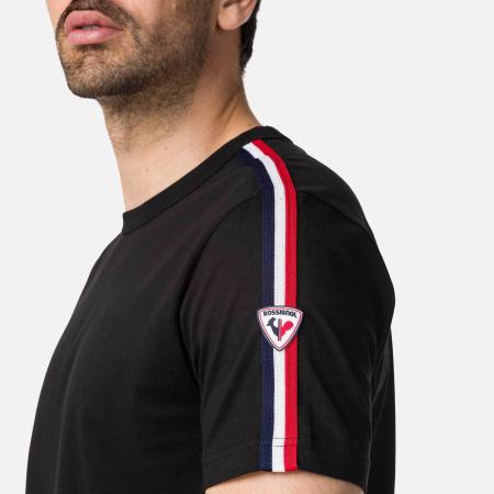 Tricou barbati Rossignol FLAG Black [1]