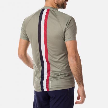 Tricou barbati Rossignol R-EXP Soft kaky [0]