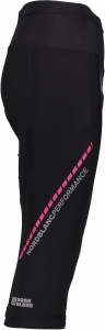 Tricou ciclism dama Nordblanc SEDUCE dryfor bike jersey Black pink2