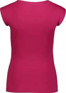 Tricou dama Nordblanc BEATIFIC supersoft elastan Raspberry red1