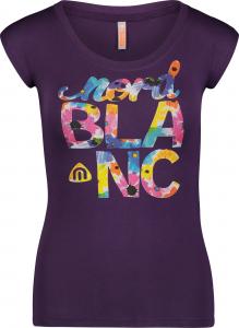 Tricou dama Nordblanc BEATIFIC supersoft elastan Deep purple0