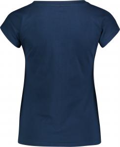 Tricou dama Nordblanc CHEEK light cotton Iron navy1