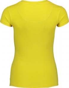 Tricou dama Nordblanc HUMBLE cotton Yellow1