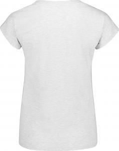 Tricou dama Nordblanc CHEEK light cotton Light grey melange1