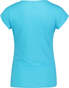 Tricou dama Nordblanc LAUREL Loose Fit cotton Ice blue1