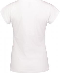 Tricou dama Nordblanc LAUREL Loose Fit cotton White1