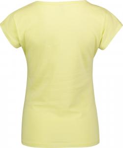 Tricou dama Nordblanc LAUREL Loose Fit cotton Lemon green1