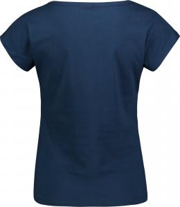 Tricou dama Nordblanc LAUREL Loose Fit cotton Iron navy1
