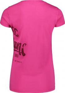 Tricou dama Nordblanc NOSTALGIC light cotton Pink1